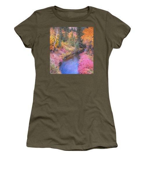 Cotton Candy Creek Women's T-Shirt