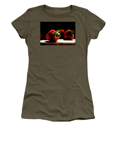 Countertop Strawberries Women's T-Shirt (Athletic Fit)