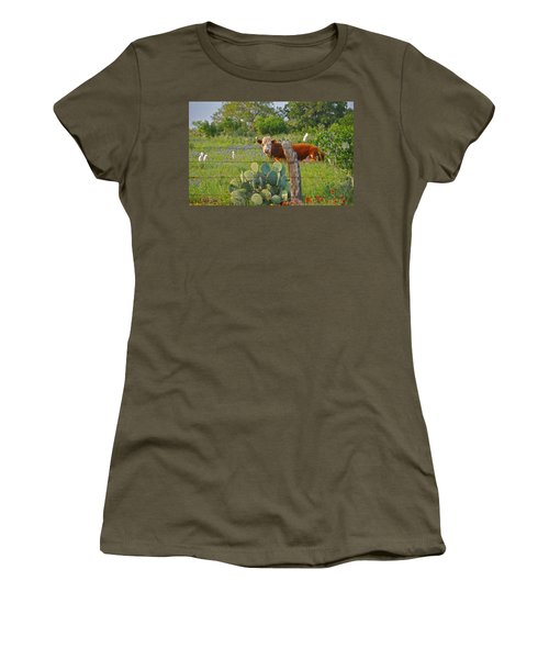 Country Friends Women's T-Shirt (Athletic Fit)