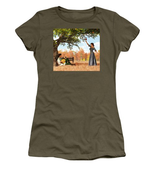 Couple At The Apple Tree Women's T-Shirt