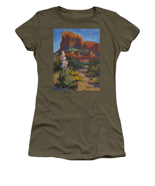 Courthouse Rock Sedona Women's T-Shirt