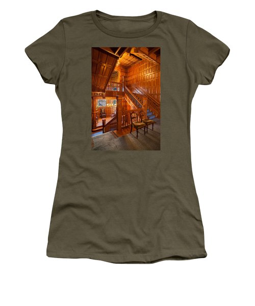 Craigdarroch Castle Stairwell Women's T-Shirt