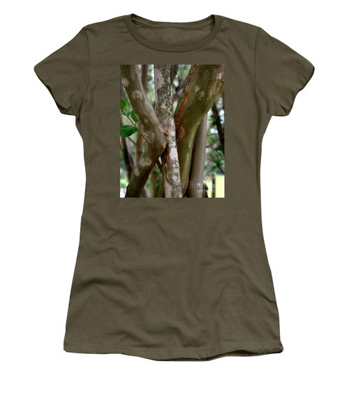Crape Myrtle Branches Women's T-Shirt (Junior Cut) by Peter Piatt