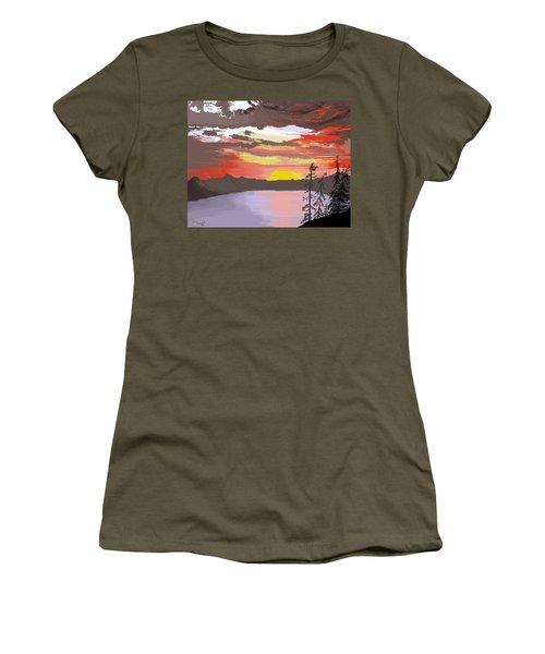 Crater Lake Women's T-Shirt