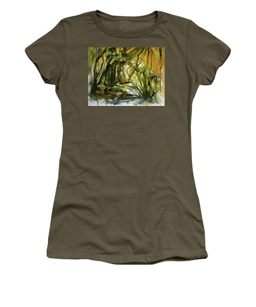 Creek Levels With Overhang Women's T-Shirt