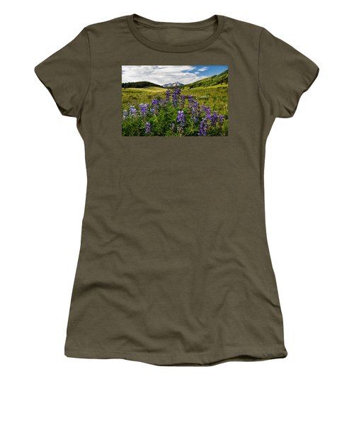 Crested Butte Lupines Women's T-Shirt