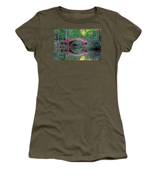Crim Dell Bridge In Summer Women's T-Shirt