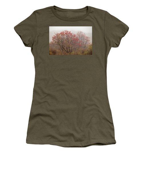 Crimson Fog Women's T-Shirt (Athletic Fit)