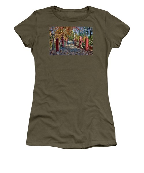 Crossing The Crim Dell Bridge II Women's T-Shirt