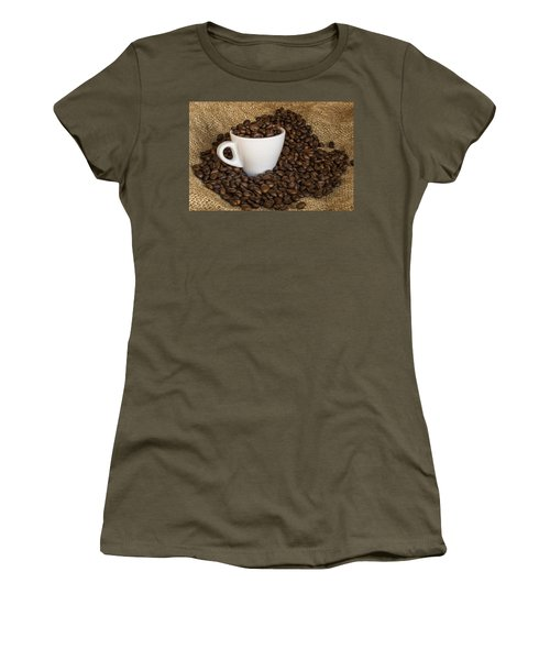 Cup Of Coffee Women's T-Shirt (Athletic Fit)