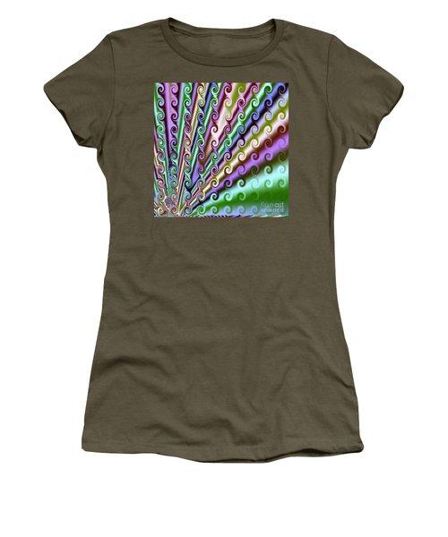 Curls And Swirls Women's T-Shirt