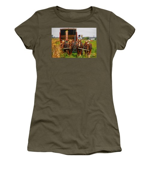 Cutting Silage 2 Women's T-Shirt