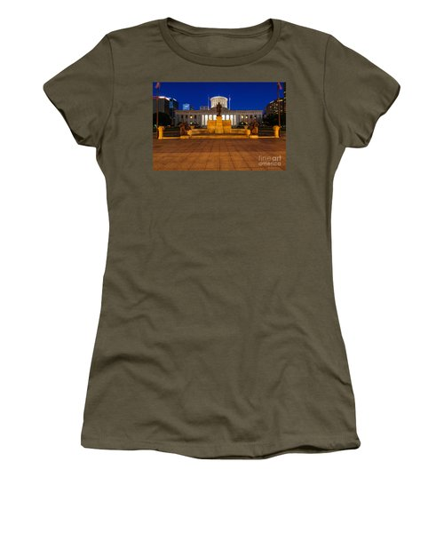 D13l112 Ohio Statehouse Photo Women's T-Shirt