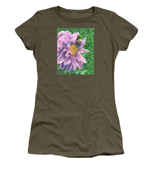 Dahlia Women's T-Shirt (Athletic Fit)