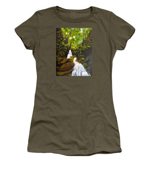 Daintree Natural Park Women's T-Shirt (Athletic Fit)