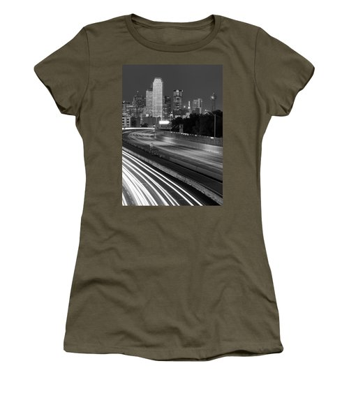 Dallas Arrival Bw Women's T-Shirt