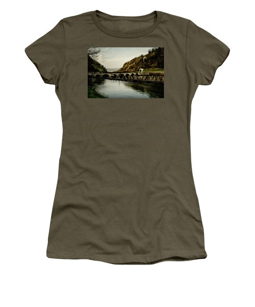 Dam On Adda River Women's T-Shirt