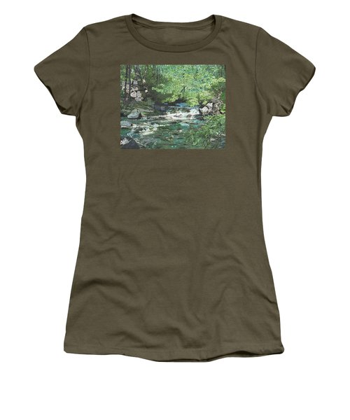 Dam Site Women's T-Shirt (Athletic Fit)