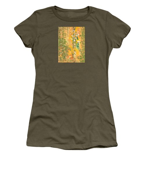 Dance Of The Elementals Women's T-Shirt (Junior Cut) by Lynda Hoffman-Snodgrass