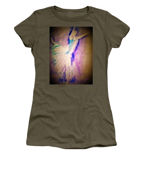 Dancing Donna Women's T-Shirt (Junior Cut) by Renee Michelle Wenker