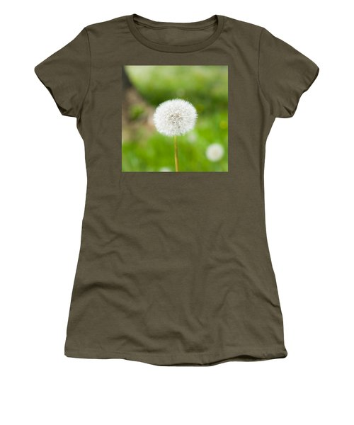 Dandelion Puffball Women's T-Shirt (Athletic Fit)