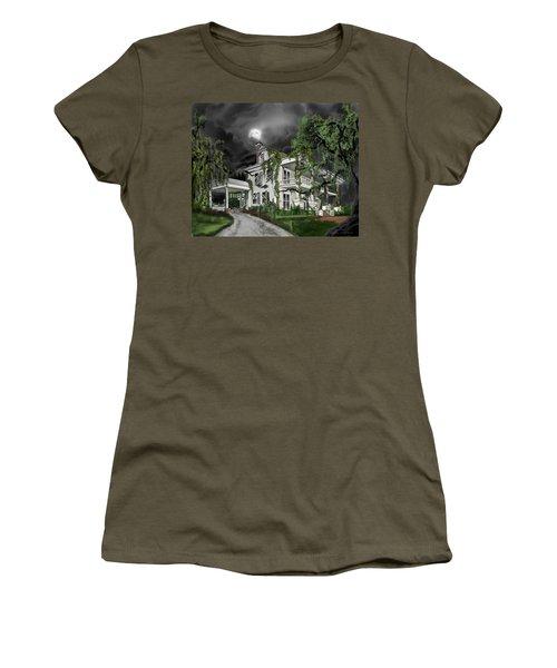 Dark Plantation House Women's T-Shirt