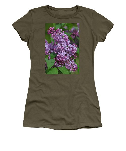 Dawns Lilacs Women's T-Shirt