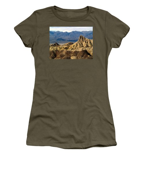 Death Valley Np Zabriskie Point 11 Women's T-Shirt (Athletic Fit)