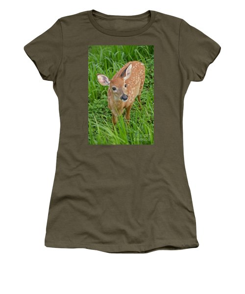Deer 42 Women's T-Shirt (Athletic Fit)