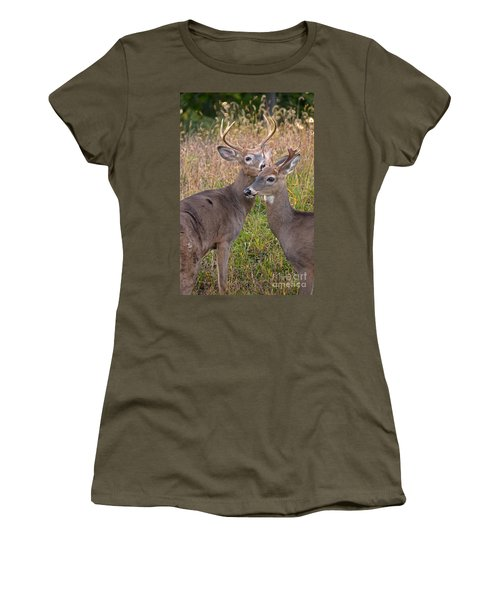 Deer 48 Women's T-Shirt (Athletic Fit)