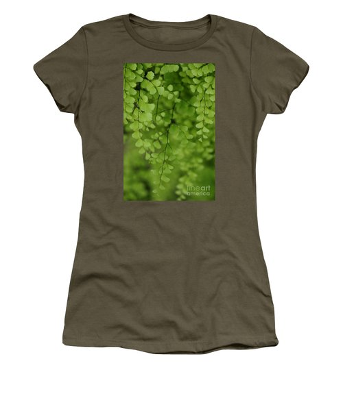 Women's T-Shirt featuring the photograph Delicate by Linda Shafer