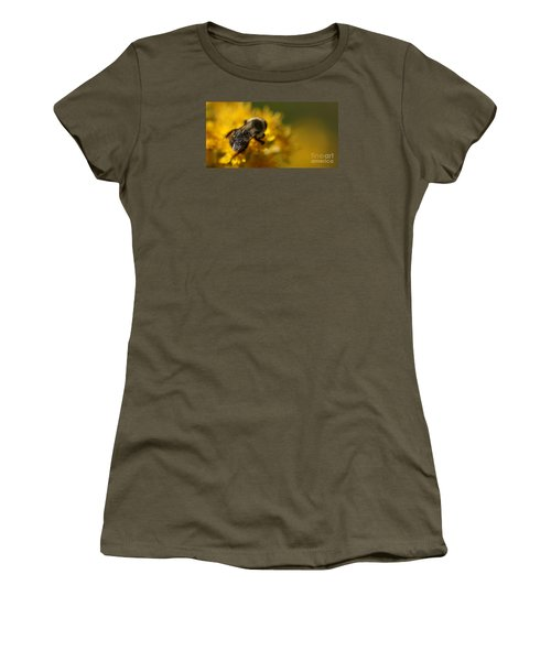 Women's T-Shirt featuring the photograph Delicate Sensitivity by Linda Shafer