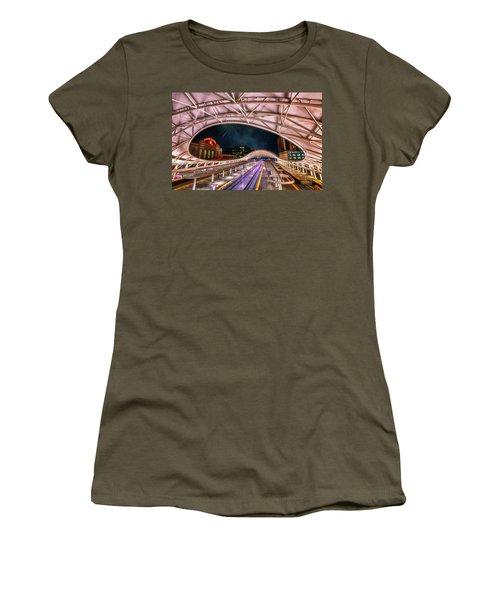 Denver Air Traveler Women's T-Shirt (Athletic Fit)