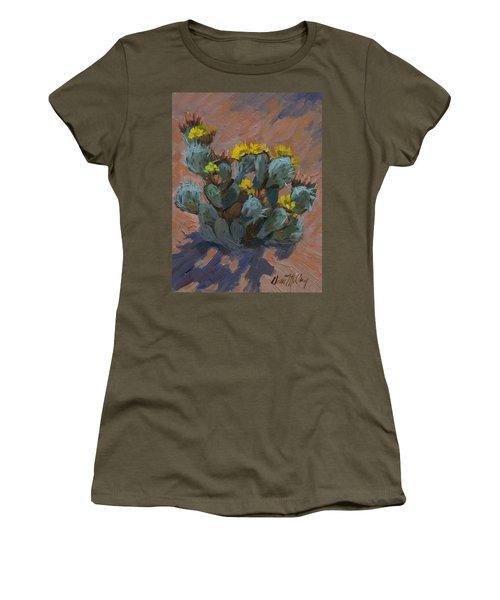 Desert Prickly Pear Cactus Women's T-Shirt