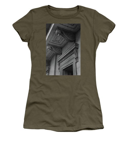 Detail Of Exterior Molding At A Plantation Home Women's T-Shirt