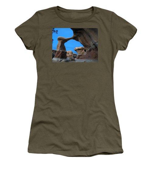 Devil's Garden Metate Arch 004 Women's T-Shirt