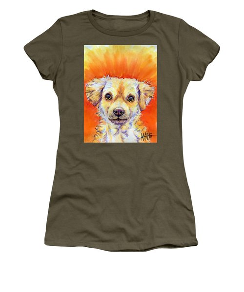 Women's T-Shirt featuring the painting Diesel by Ashley Kujan
