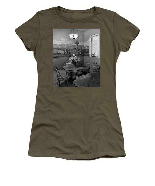 Dining Room In Helena Rubinstein's Home Women's T-Shirt