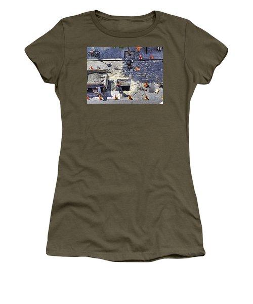 Dog Daze Women's T-Shirt (Athletic Fit)