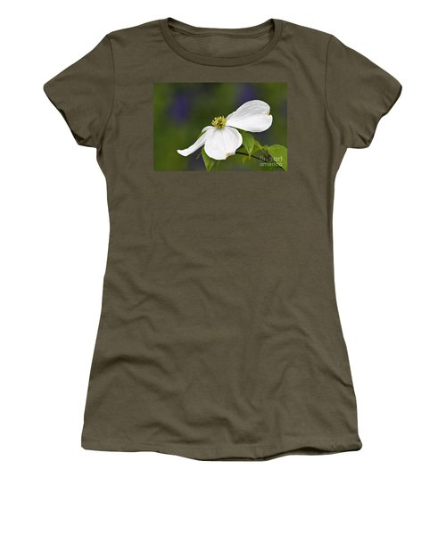 Dogwood Blossom - D001797 Women's T-Shirt (Athletic Fit)