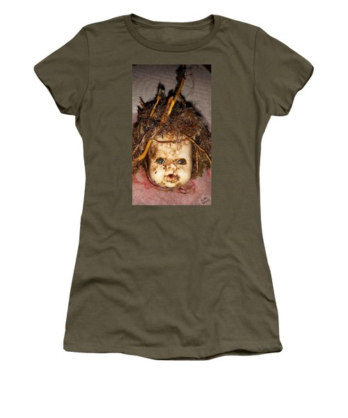 Doll Head Women's T-Shirt (Athletic Fit)