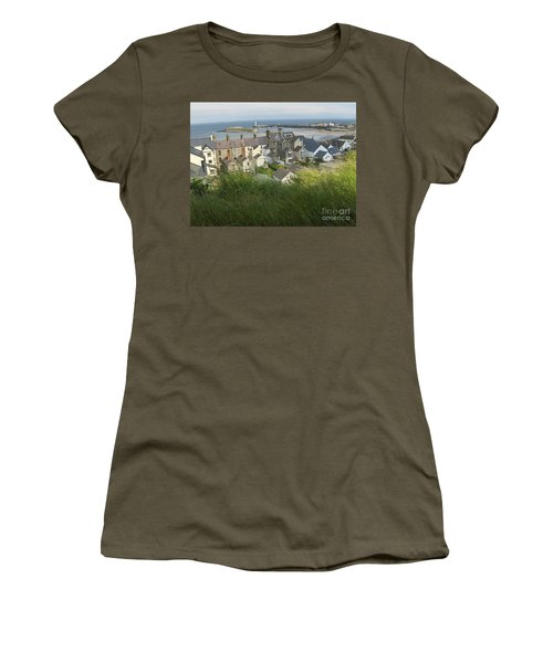 Donaghadee Northern Ireland View From The Moat Women's T-Shirt (Junior Cut) by Brenda Brown