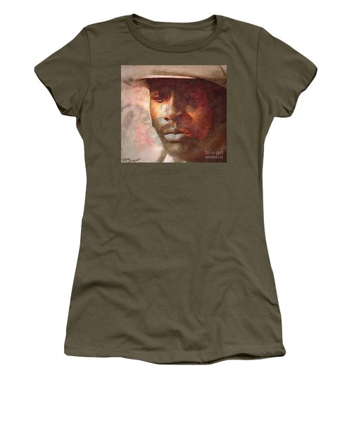 Donny Hathaway Women's T-Shirt (Athletic Fit)