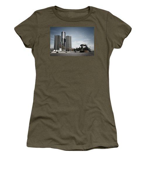 Downtown Detroit Women's T-Shirt