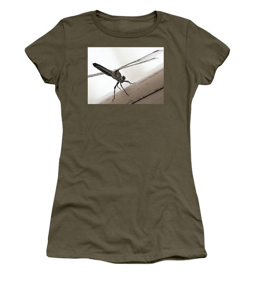 Dragon Of The Air  Women's T-Shirt (Junior Cut) by Micki Findlay