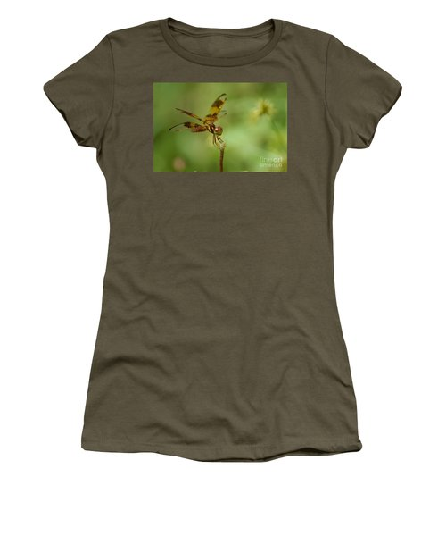 Women's T-Shirt (Junior Cut) featuring the photograph Dragonfly 2 by Olga Hamilton