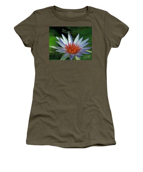 Dragonlily Women's T-Shirt (Junior Cut) by Larry Nieland