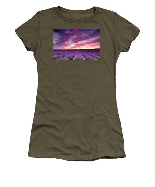 Drama In The Sky Women's T-Shirt