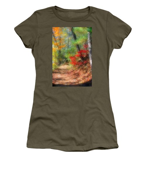 Dreaming Of Fall Women's T-Shirt (Junior Cut) by Kristin Elmquist
