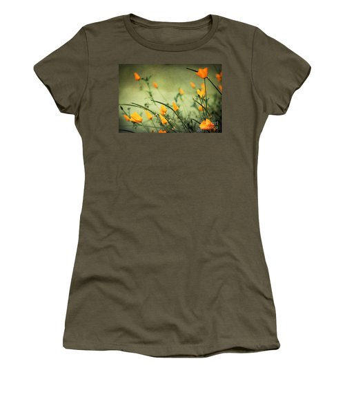 Women's T-Shirt (Junior Cut) featuring the photograph Dreaming Of Spring by Ellen Cotton